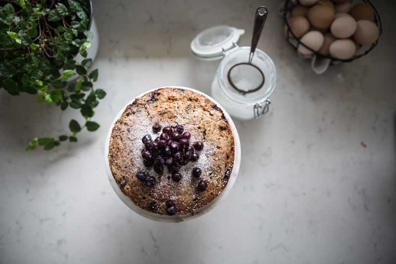Tara's Blueberry Poppy Seed Snacking Cake - Cook Republic