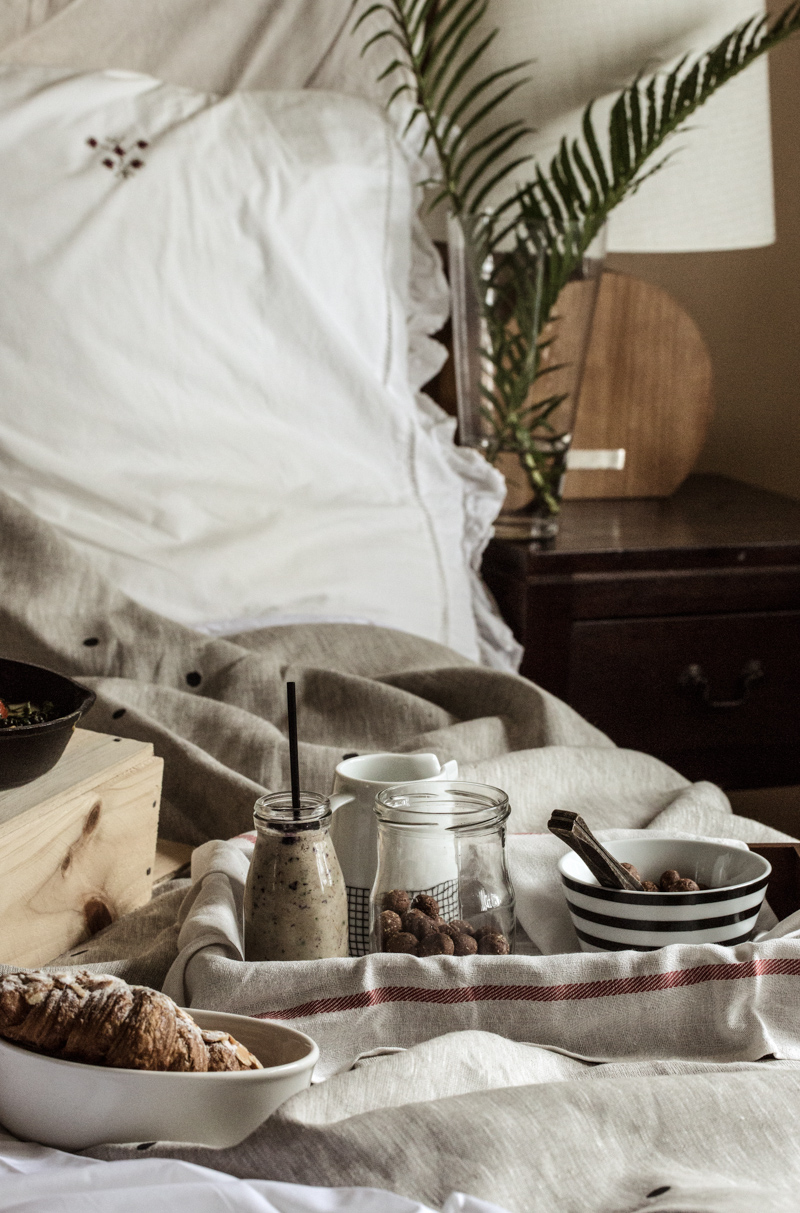 Breakfast In Bed for ELLE Australia - Sneh Roy, Photo & Styling