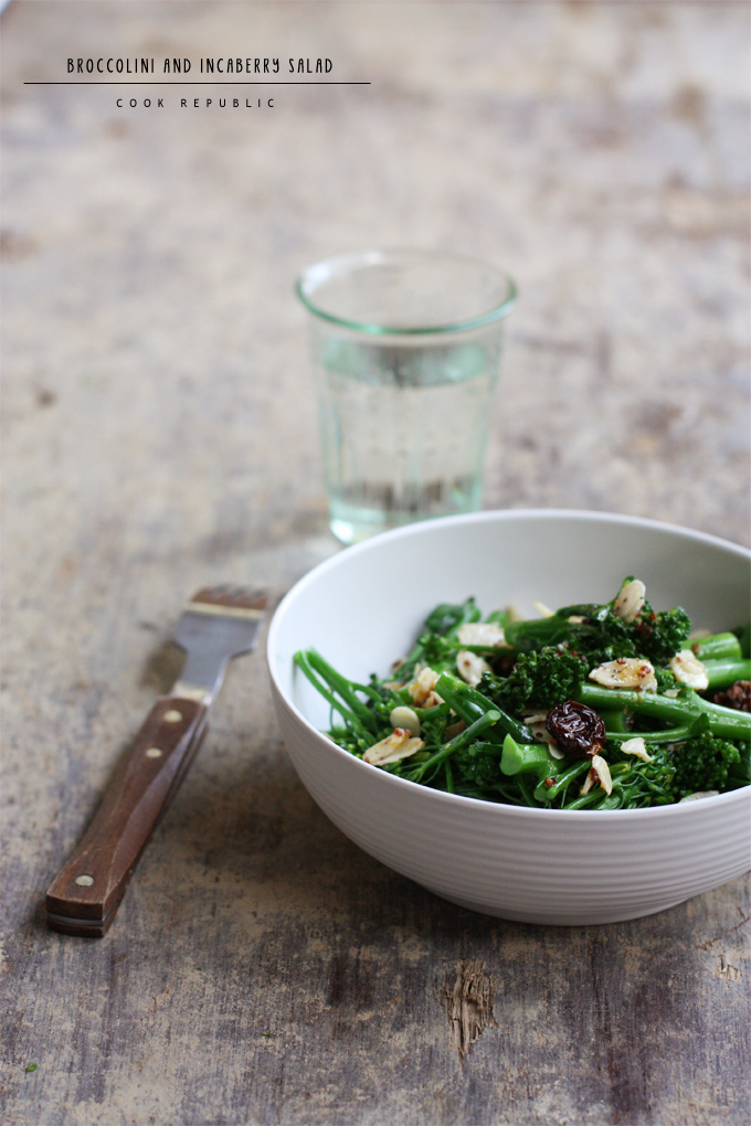 Broccolini And Incaberry Salad - Cook Republic