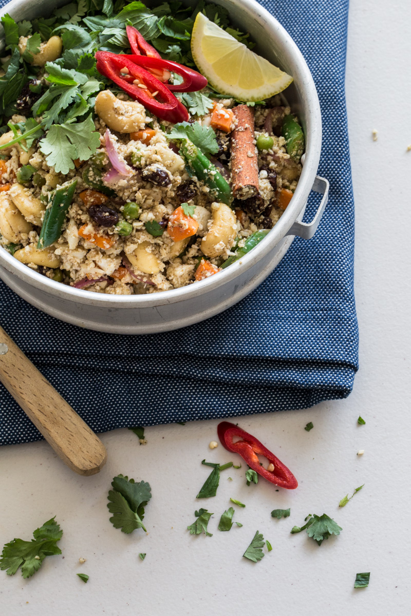 Cauliflower Rice Biryani Salad - Cook Republic