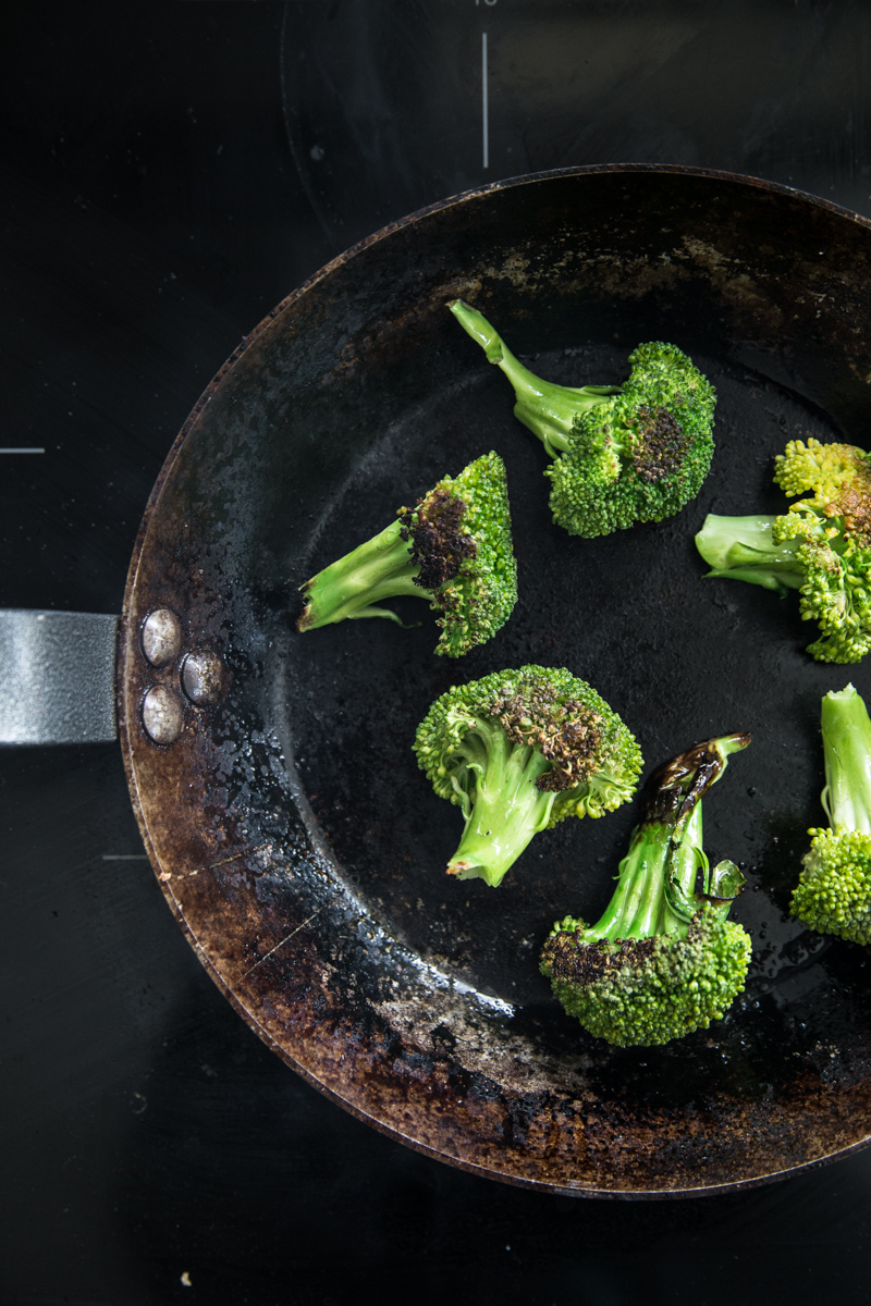 Charred Broccoli - Cook Republic