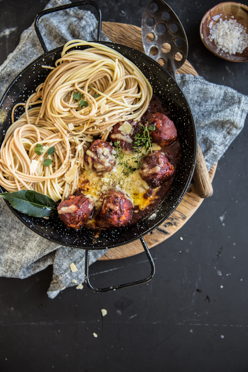 Red Hot Chicken And Fried Cheese Meatballs - Cook Republic
