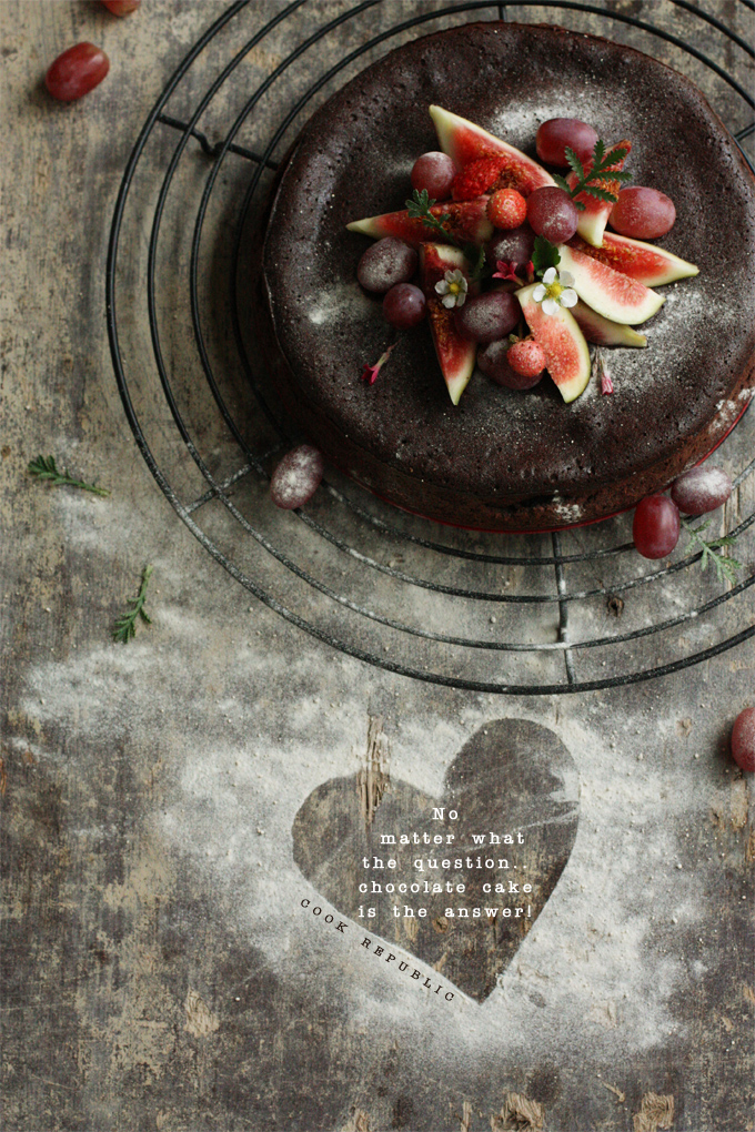 Chocolate Fudge Cake - Cook Republic