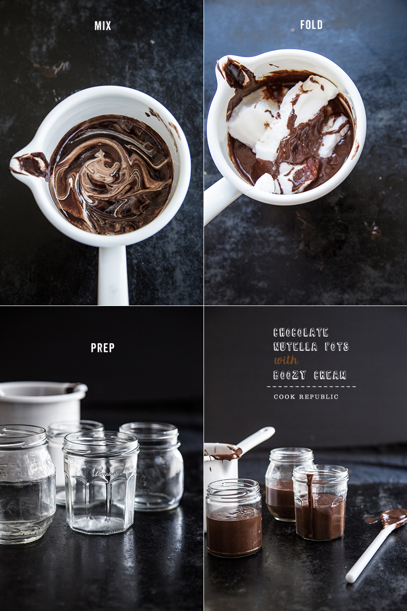 Chocolate Nutella Pots - Cook Republic