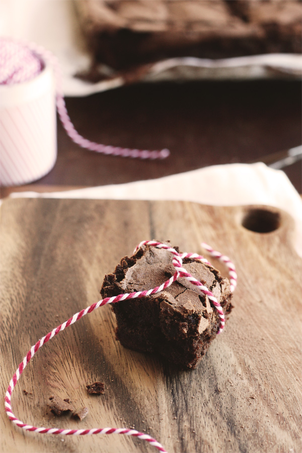 Chocolate Prune Brownie