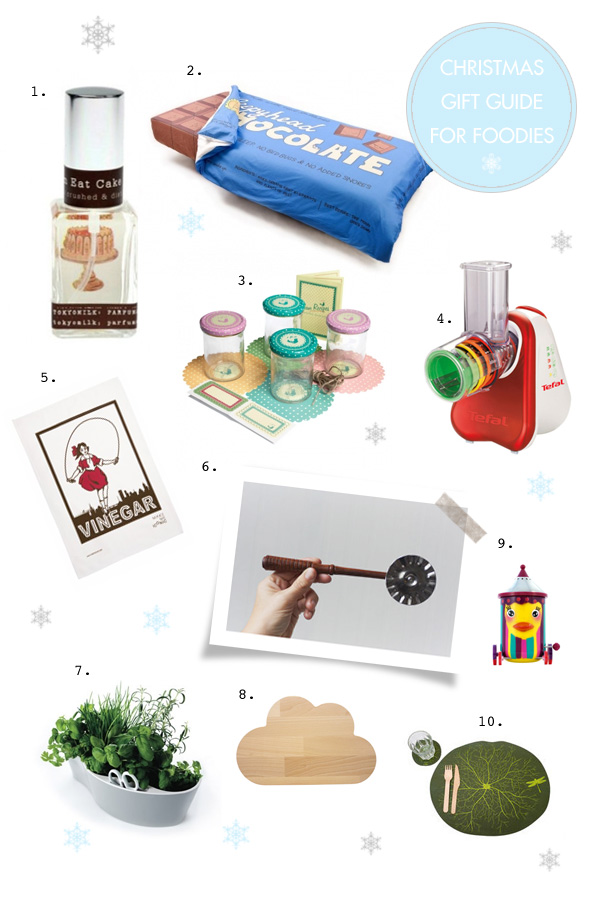 Christmas Gift Guide For The Foodie 2011 - Vol 1