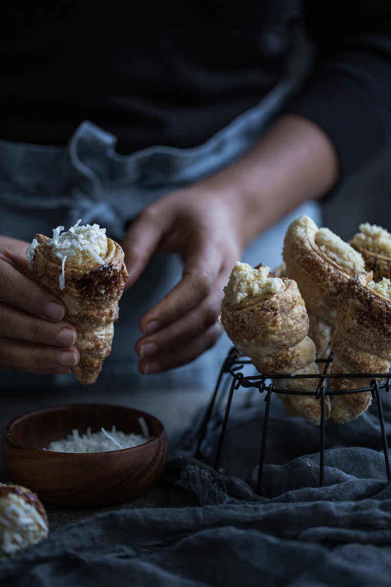 Coconut Cream Horns - Cook Republic