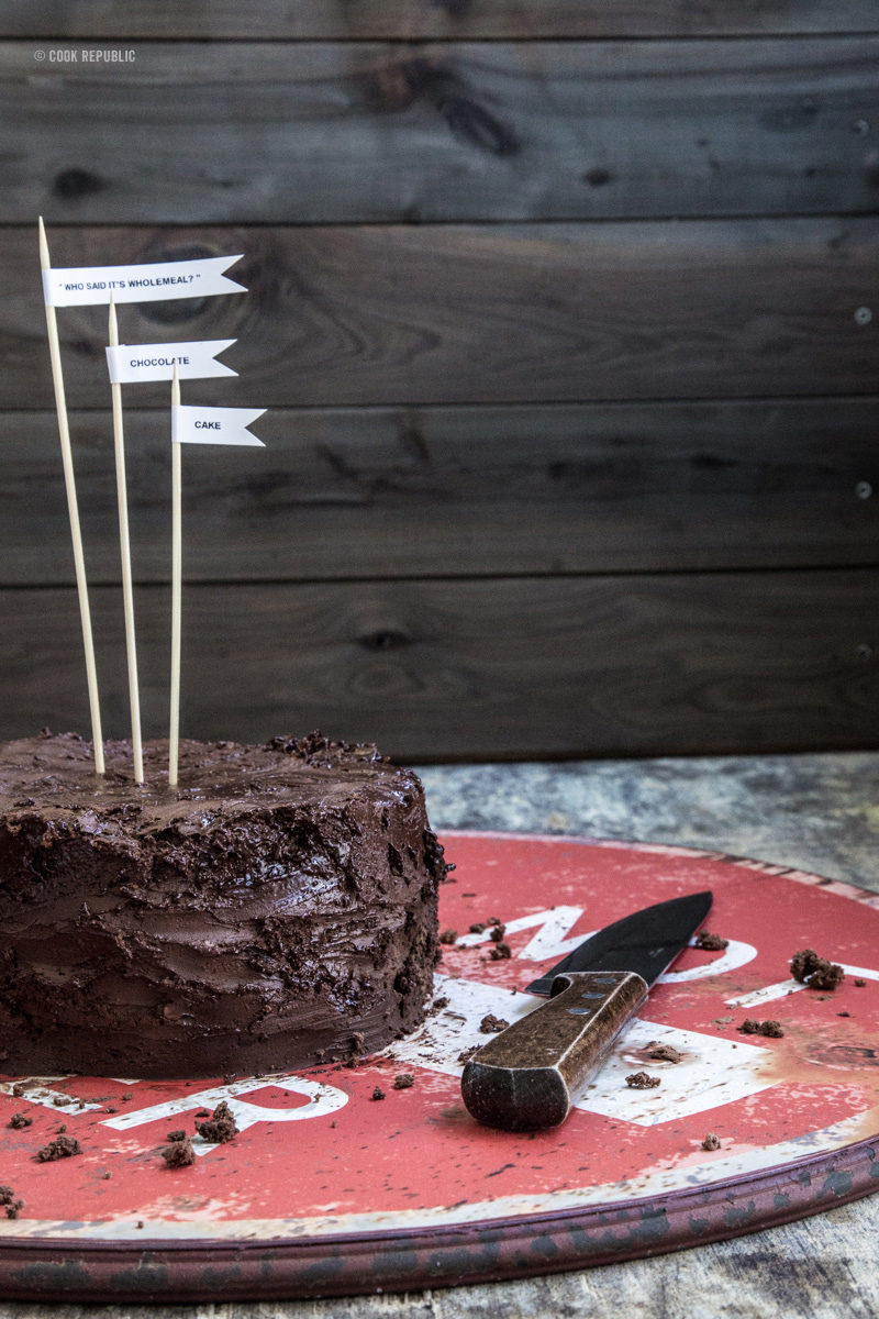 Who Said It's Wholemeal? Chocolate Cake AND A Cookbook Deal