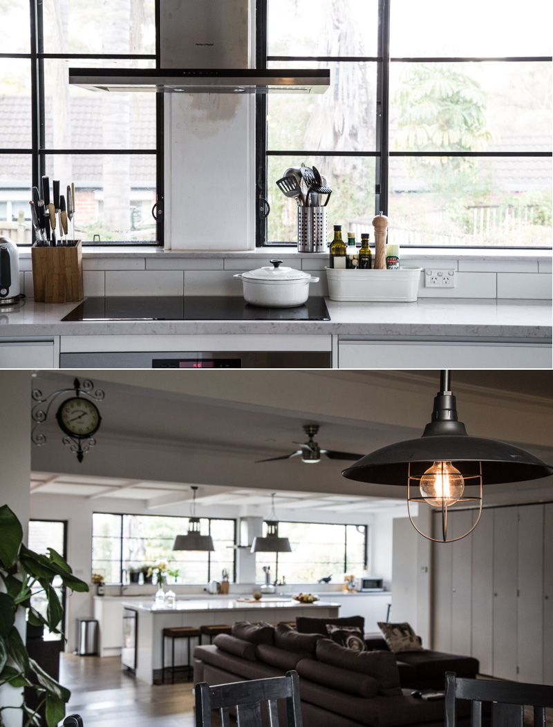 Industrial Kitchen Design - Sydney home of Sneh Roy