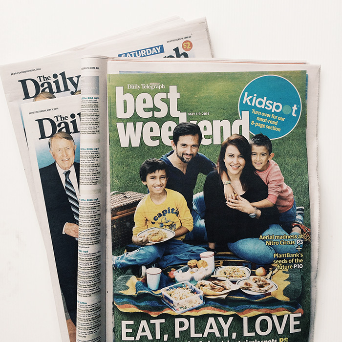 Daily Telegraph Tasty Express Feature