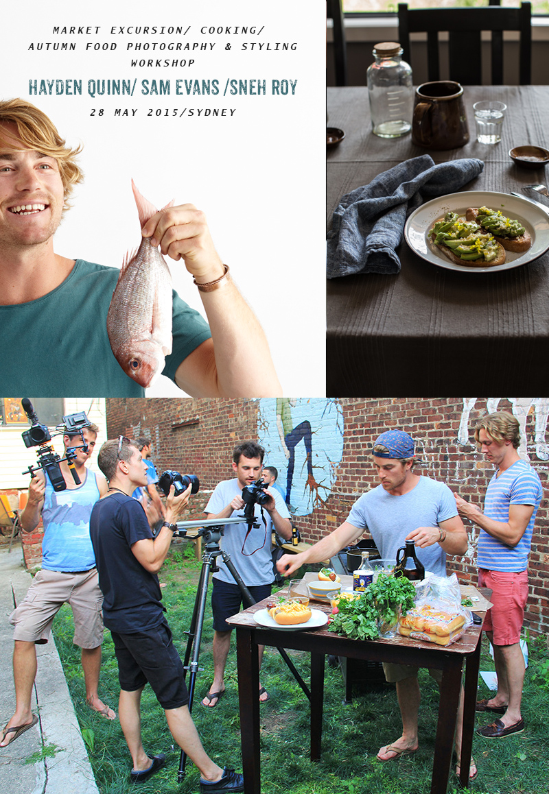 Image of Market To Table Cooking Excursion & Food Video Workshop With Hayden Quinn (Sydney) - 28 May, 2015