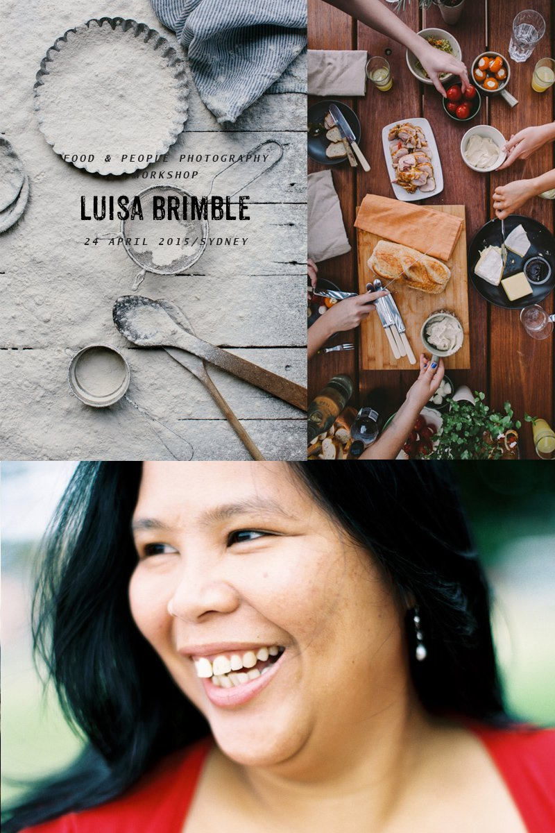 People And Food Photography Workshop With Luisa Brimble (Sydney) - April 24, 2015