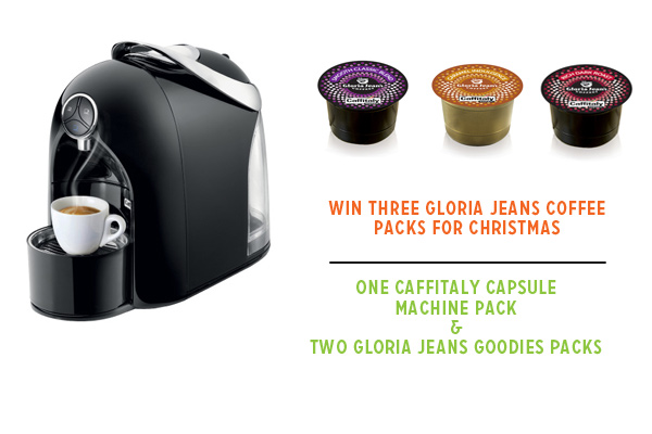 Win Three Amazing Gloria Jeans Coffee Prize Packs
