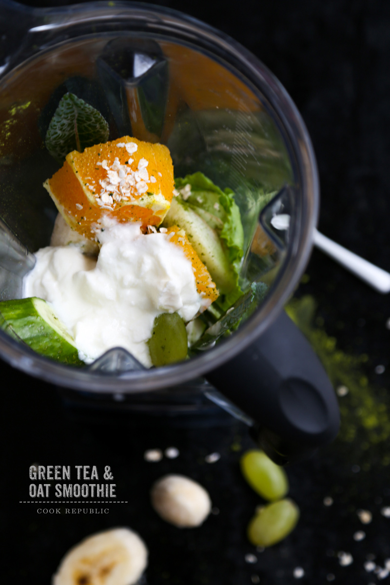Green Tea Smoothie - Cook Republic