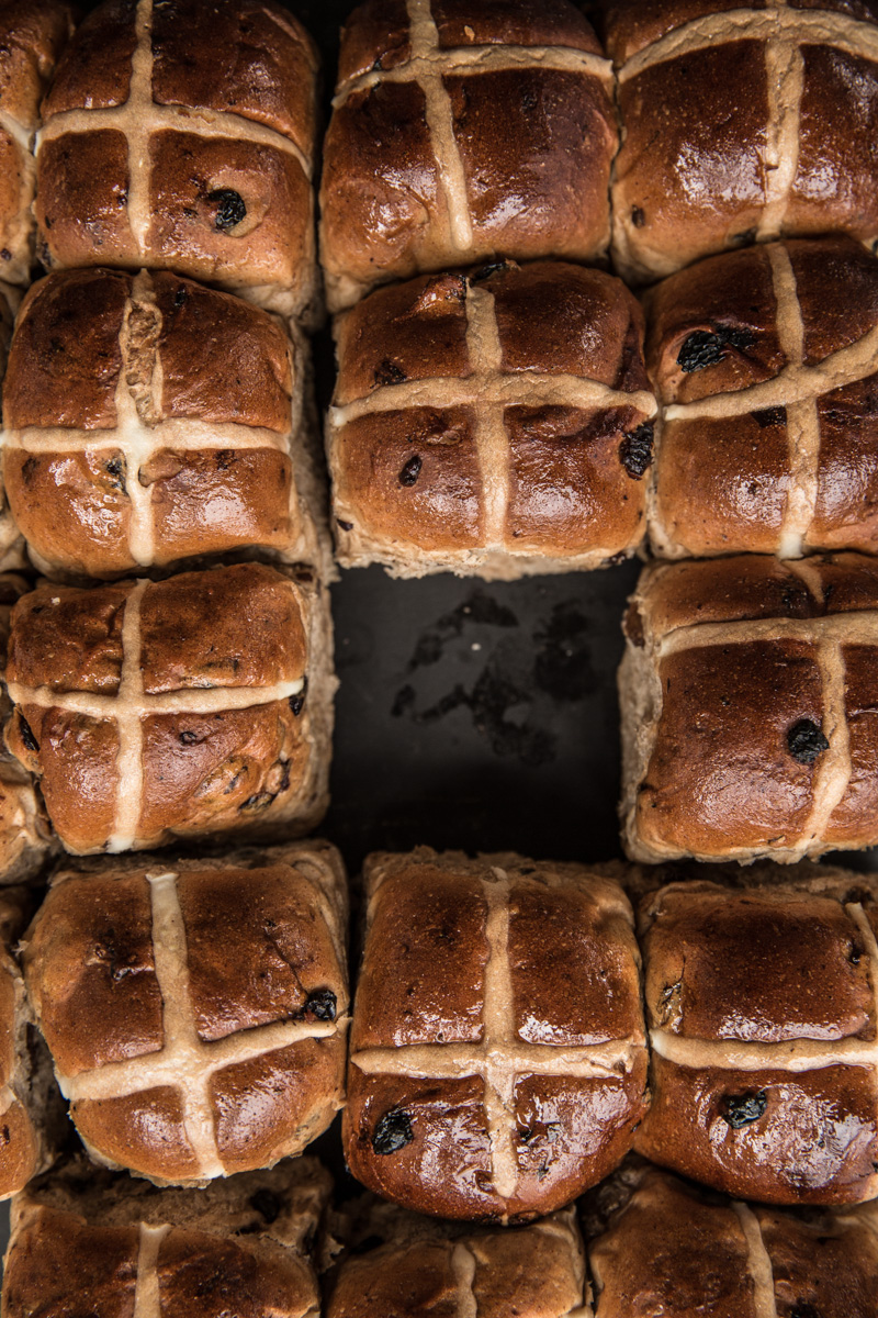 Hot Cross Buns - Cook Republic