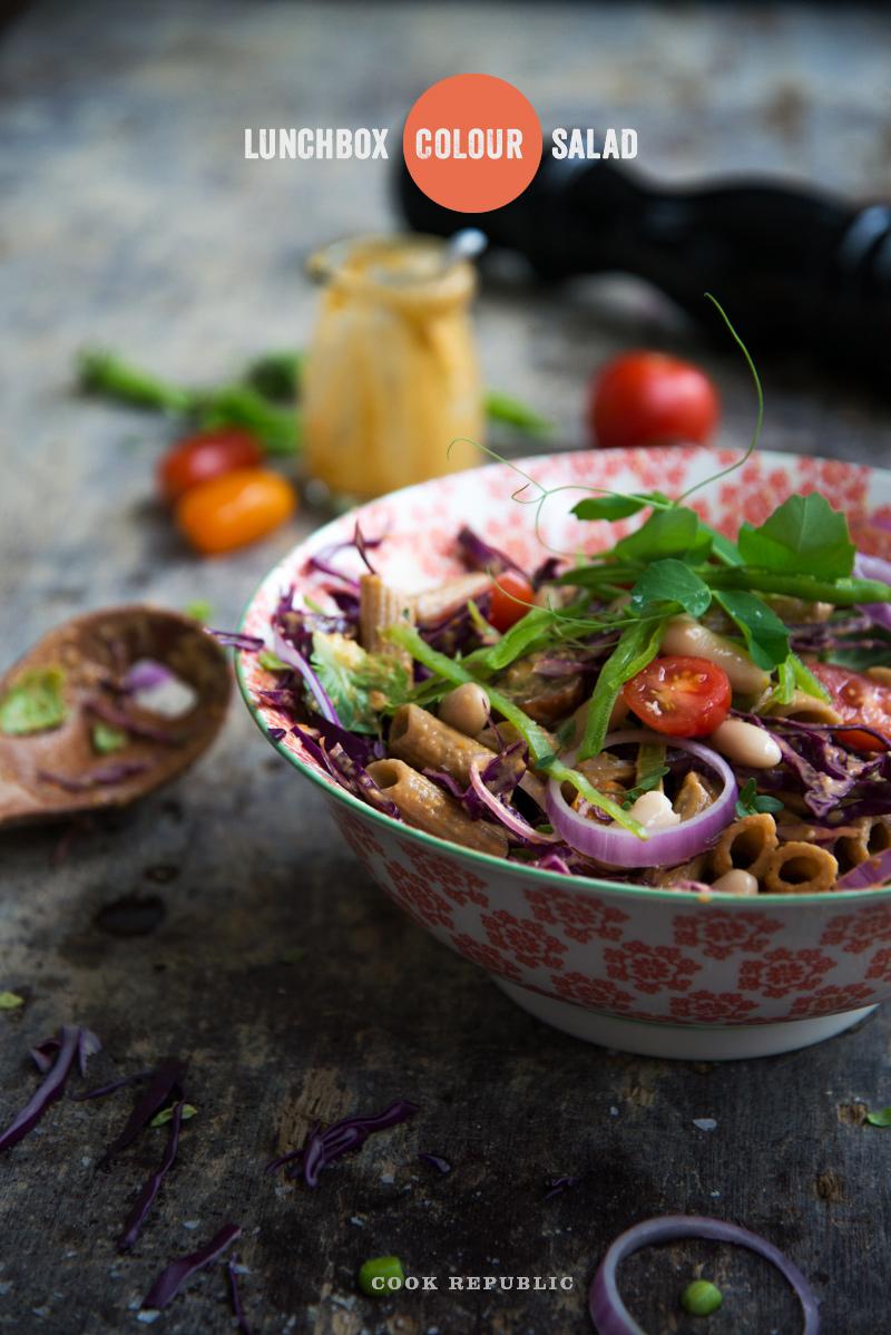 Lunchbox Colour Salad - Cook Republic