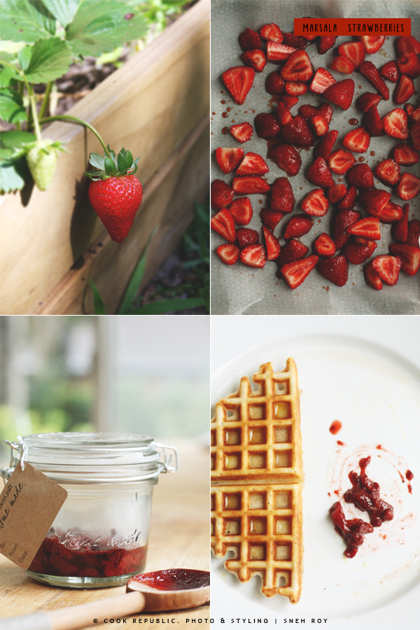 Marsala Strawberries - Garden To Jar