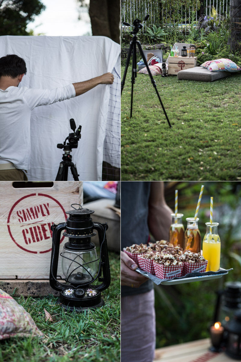 Backyard Movie Night & Chocolate Popcorn - Sneh Roy, Photography