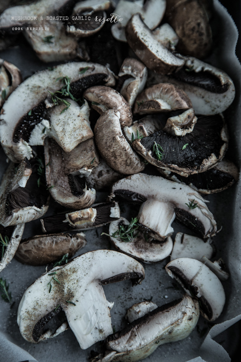 Thyme Roasted Mushrooms - Cook Republic