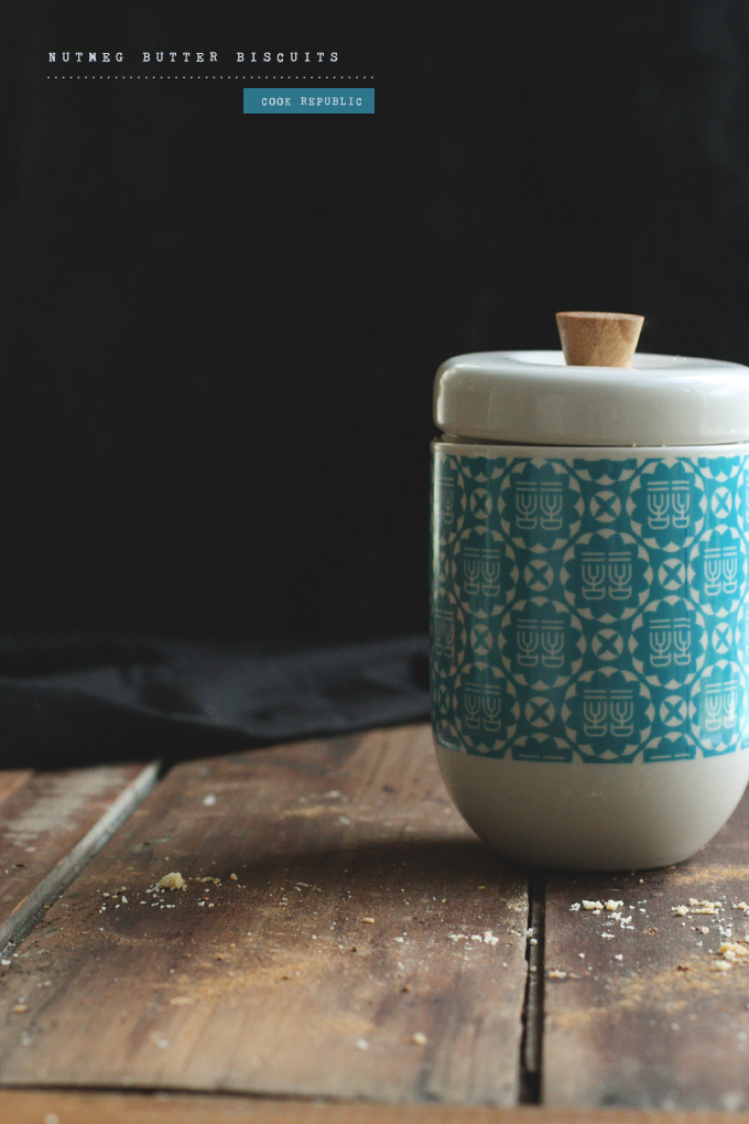 Patterned Biscuit Jar - Cook Republic