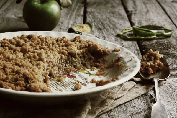 Old Fashioned Apple Crumble