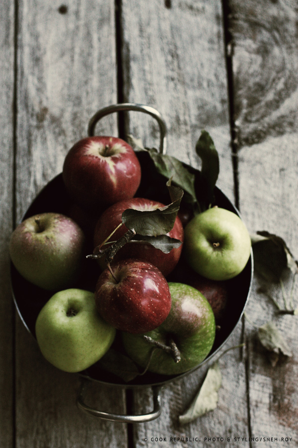 Apples from Bilpin, NSW.