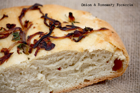 Onion And Rosemary Focaccia