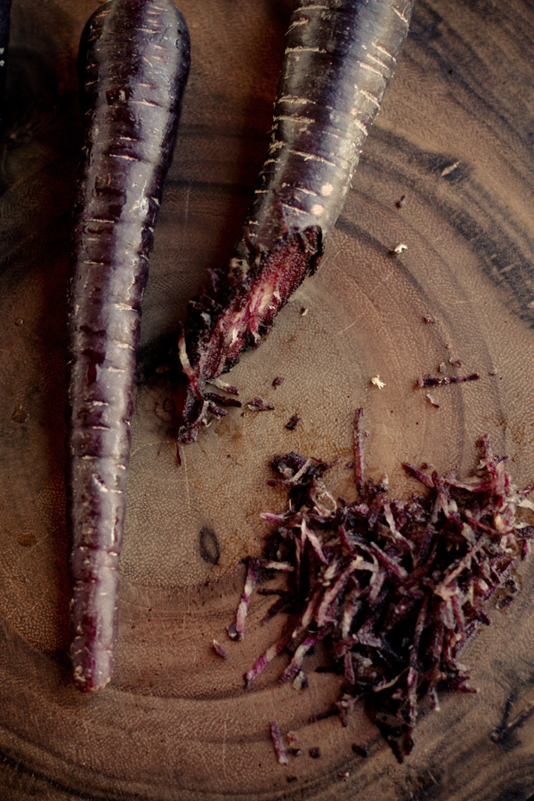 Grated Purple Carrot