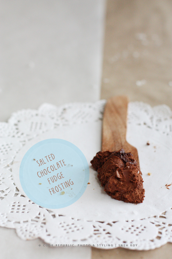 Salted Chocolate Fudge Frosting | Cook Republic