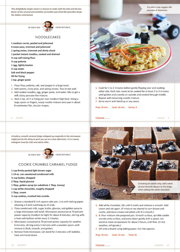 Cook Republic published in the first cookbook by Foodie