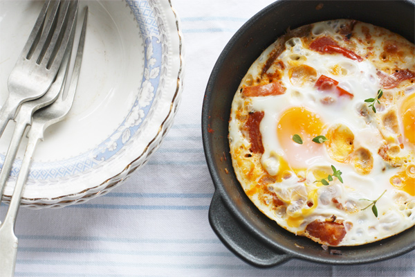 Spicy Shakshuka Eggs