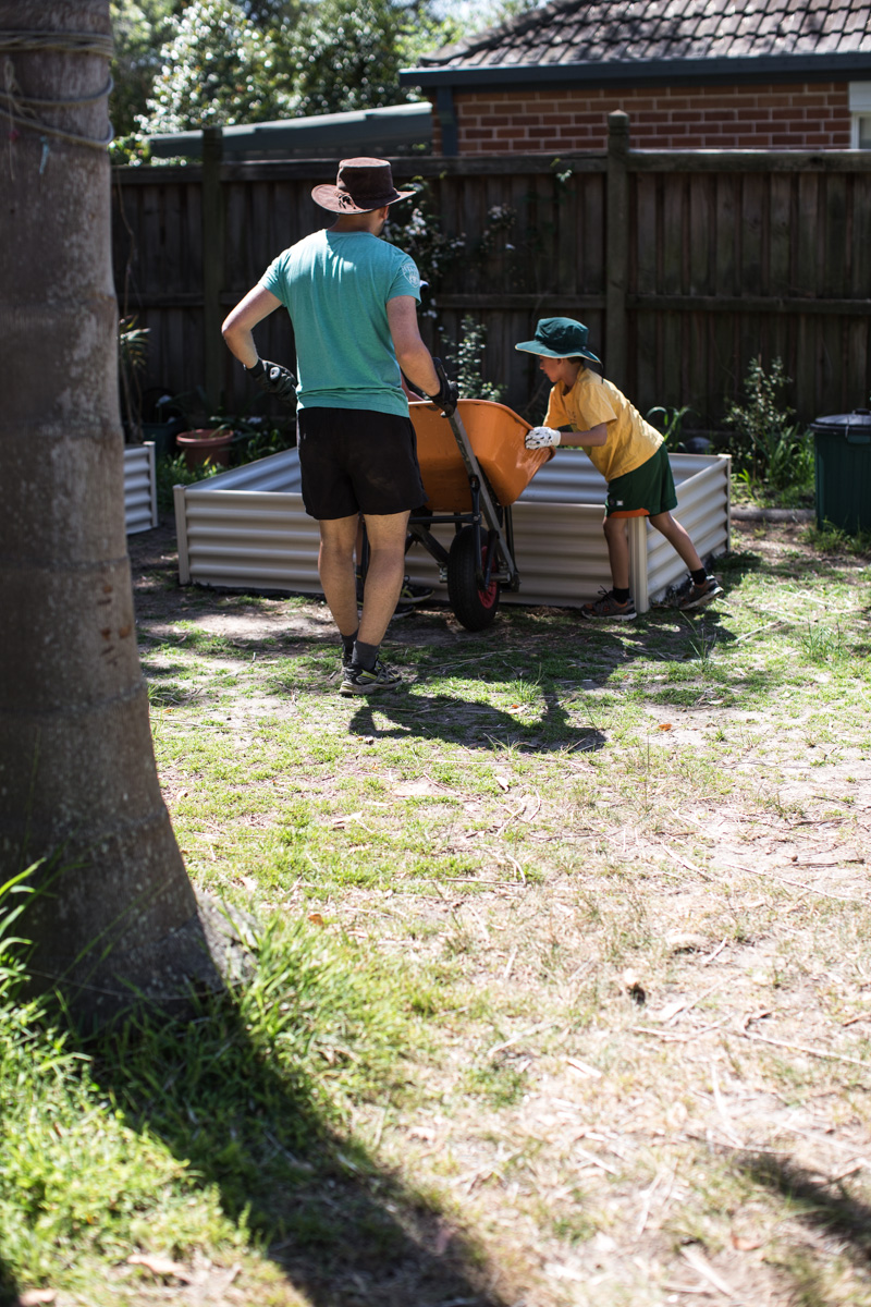 Planting A Spring Veggie Patch With The Family - Cook Republic