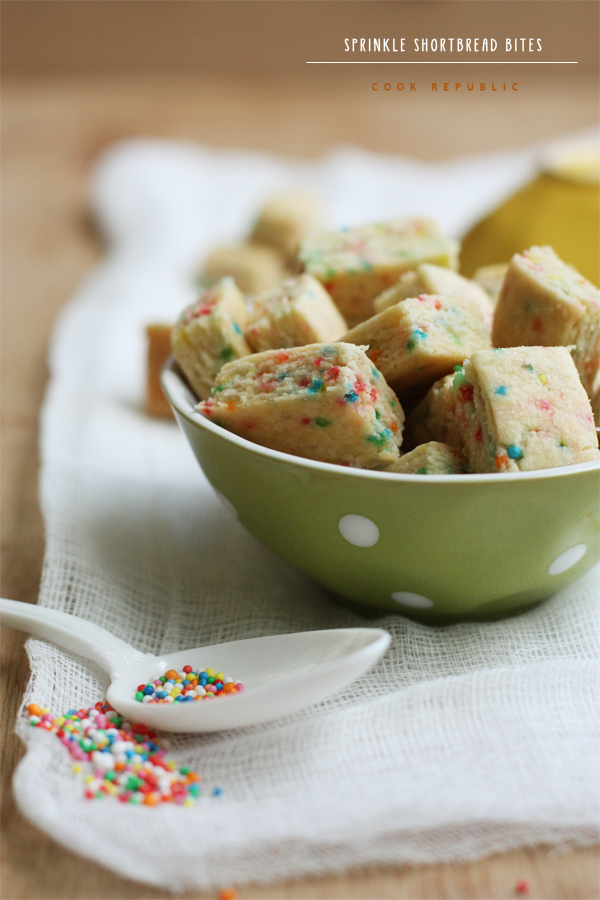 Sprinkle Shortbread - Cook Republic