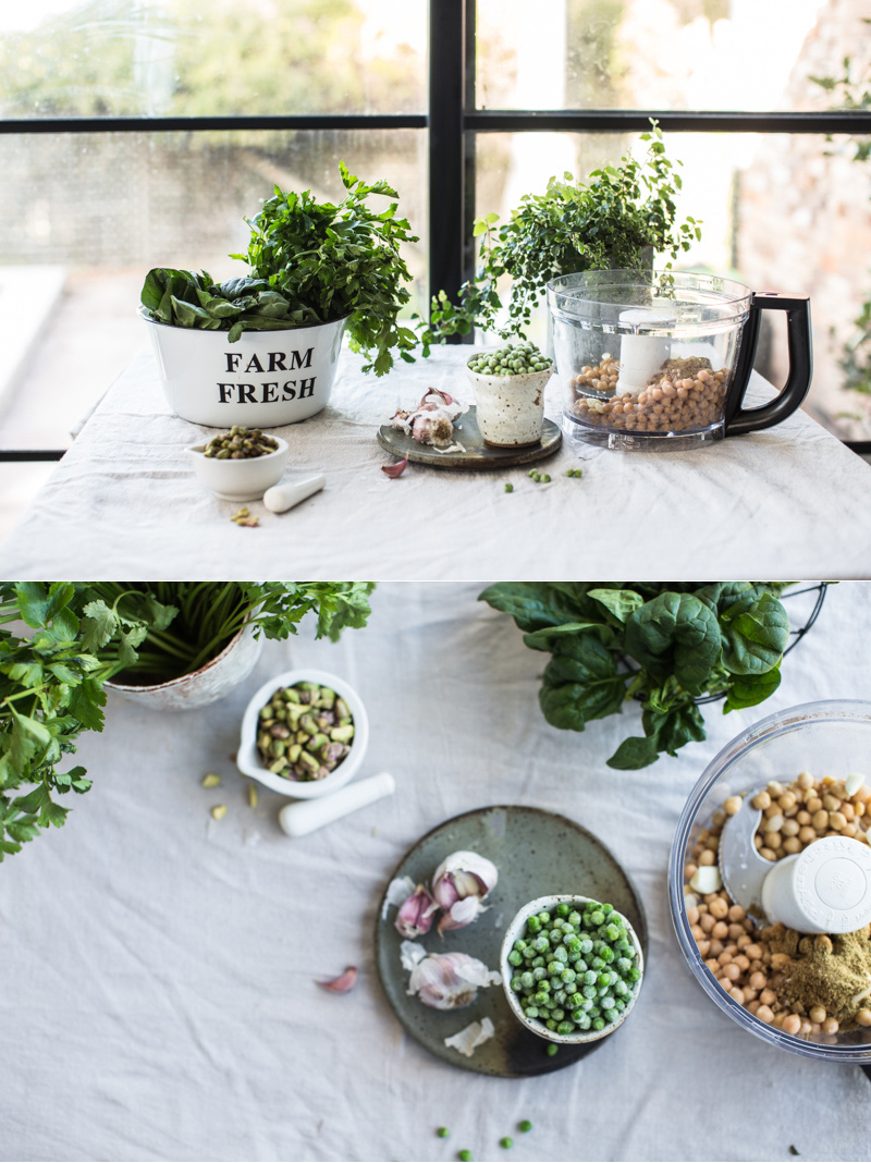 Super Green Falafel With Turmeric Tahini Sauce - Photography And Styling, Sneh Roy