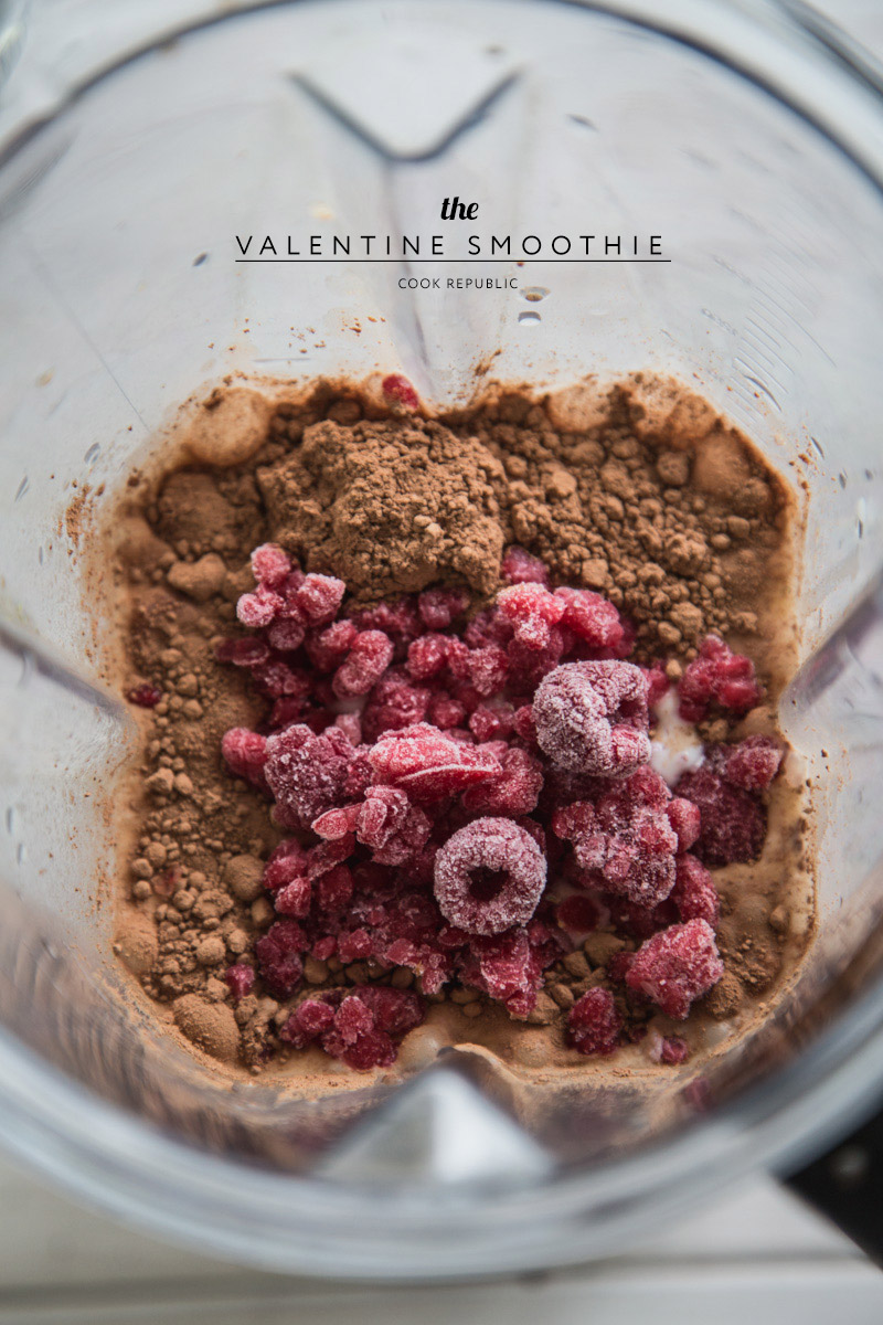 The Valentine Smoothie - Cook Republic