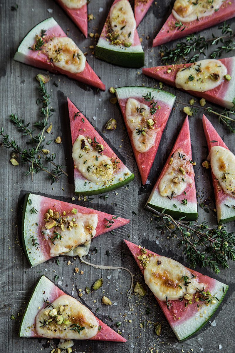 Watermelon Grilled Cheese - Sneh Roy, Photo.