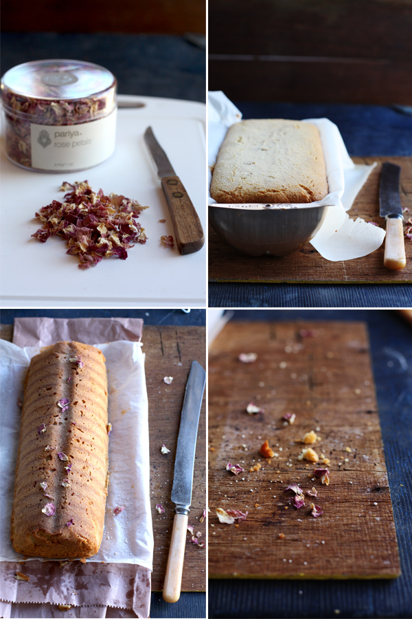 Almond And Rose Bread