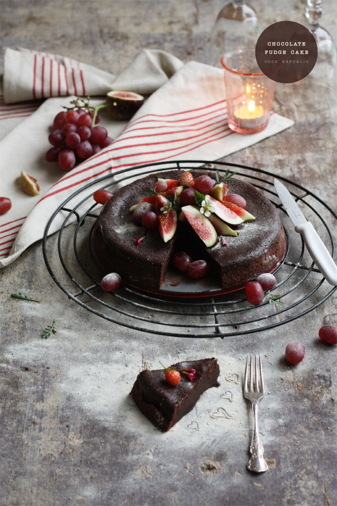 Chocolate Fudge Brownie Cake - Cook Republic