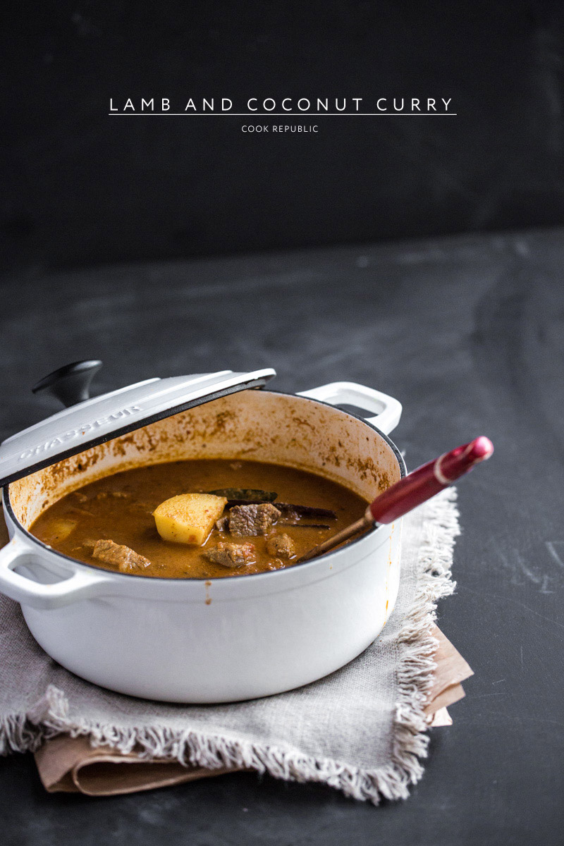 Rustic Lamb And Coconut Curry - Cook Republic