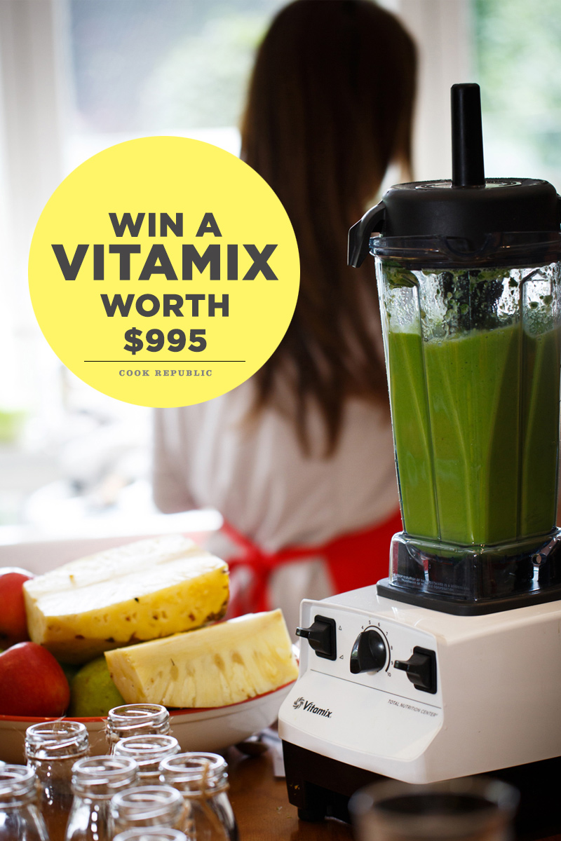 Win A Vitamix Blender Worth $995 At Cook Republic