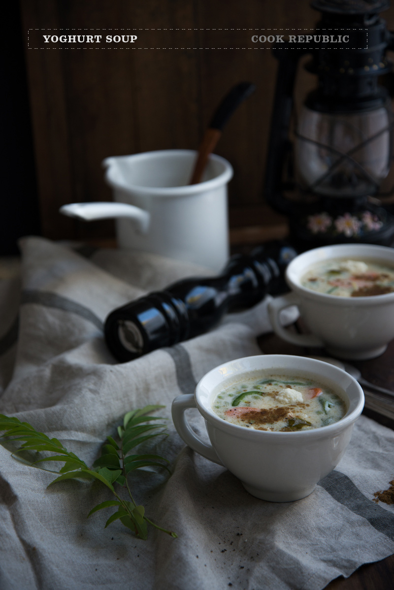 Yoghurt Soup - Food Revolution Day