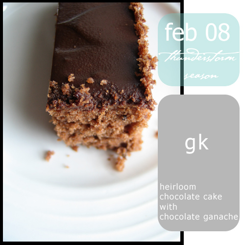 Heirloom Chocolate Cake