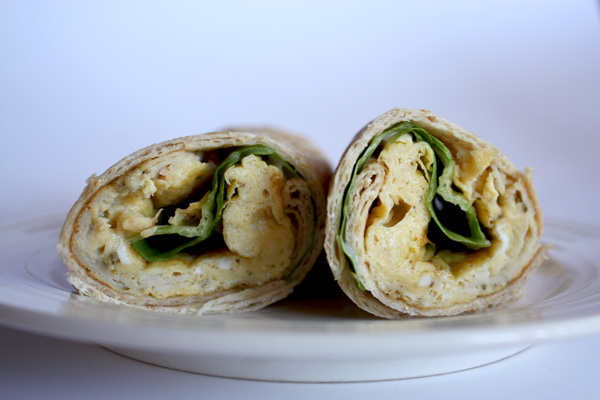 Gourmet healthy wrap recipes
