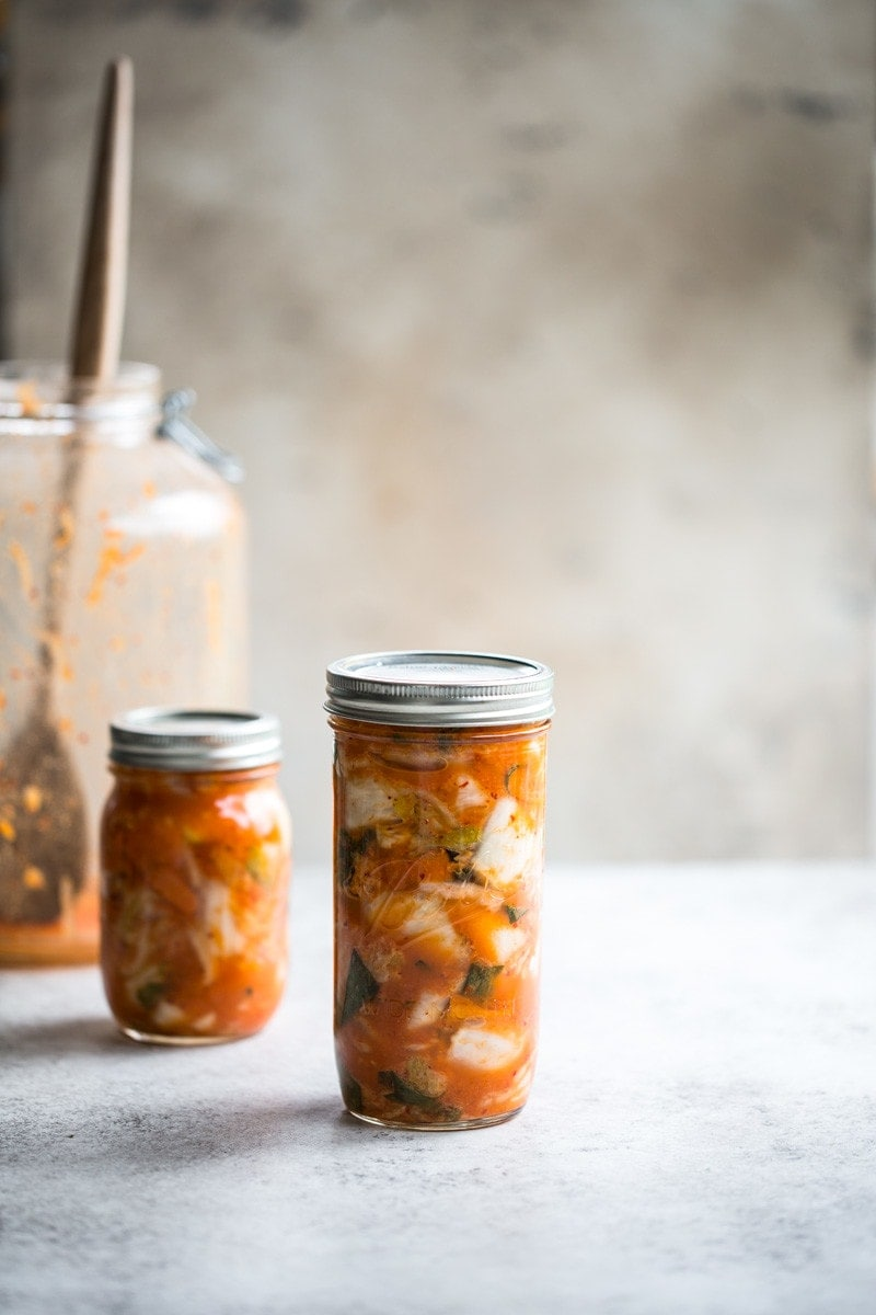 Easy 30 Minute Kimchi And Vegan Fish Sauce - Cook Republic