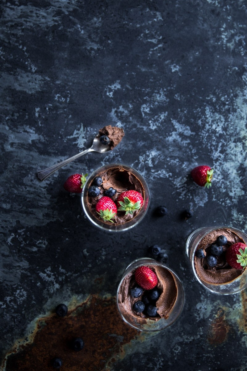 Instant Chocolate And Avocado Mousse - Cook Republic