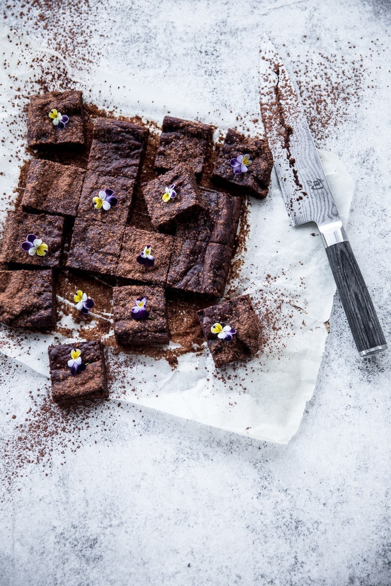 Chocolate Hazelnut And Avocado Brownie - Cook Republic