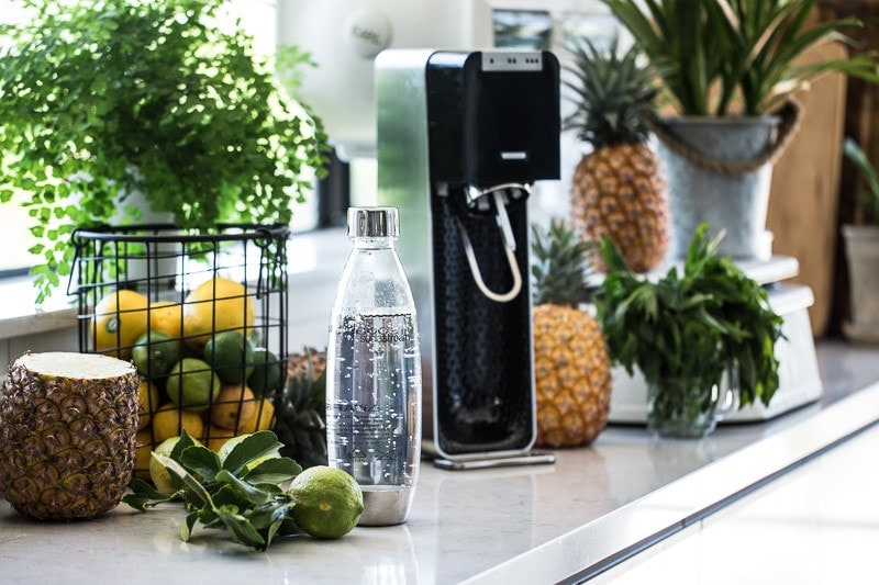 Pineapple And Lychee Fizz - Cook Republic #sodastream