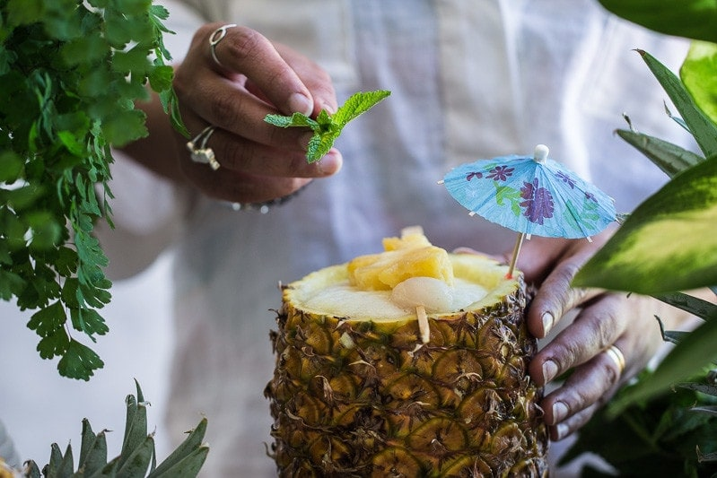 Pineapple And Lychee Fizz - Cook Republic