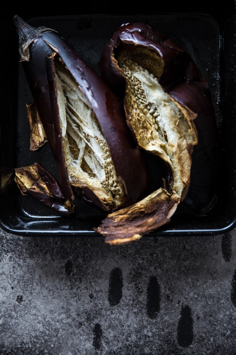 Roasted Eggplant - photo/styling, Sneh Roy