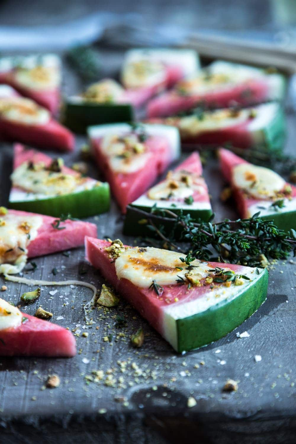 Watermelon Grilled Cheese Pizza - Cook Republic